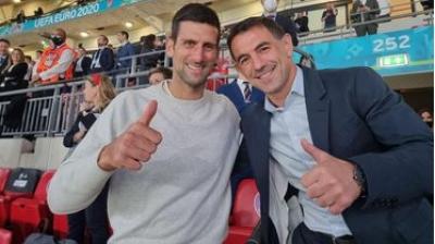 Τζόκοβιτς και Καραγκούνης παρέα στο Wembley!