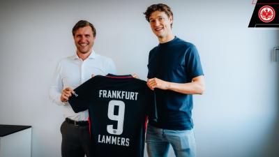 Άιντραχτ Φρανκφούρτης: Ανακοίνωσε τον δανεισμό του Σαμ Λάμερς!