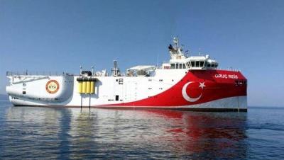 Εντός κυπριακής ΑΟΖ το Oruc Reis – Προορισμός η περιοχή της παράνομης τουρκικής Navtex
