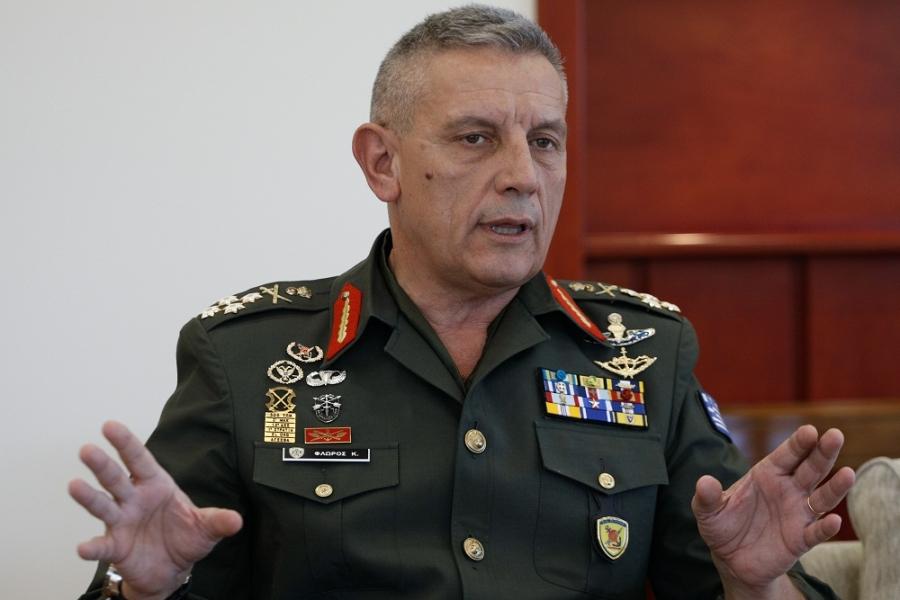Φλώρος (ΓΕΕΘΑ): Είμαστε υποχρεωμένοι να διατηρούμε ισχυρές Ένοπλες Δυνάμεις