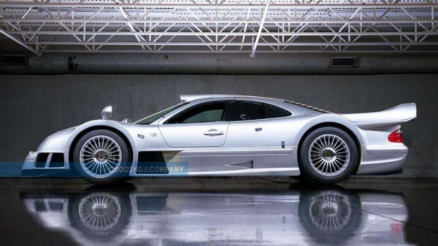 Αυτή η σπάνια Mercedes-Benz CLK GTR θα πωληθεί για πολλά εκατομμύρια