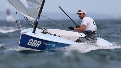 Ιστιοπλοΐα: Ο Βρετανός Γκιλς Σκοτ χρυσός Ολυμπιονίκης στα Finn
