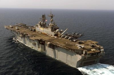USS Iwo Jima: Ένα υπερόπλο στην κυπριακή ΑΟΖ (video)