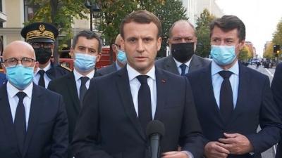 Macron (Γαλλία): Δεν θα υποχωρήσουμε στη μάχη κατά της ισλαμικής τρομοκρατίας
