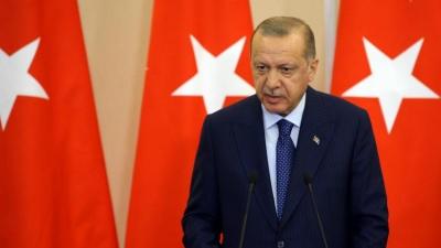 Erdogan: Η Τουρκία δεν θα αναγνωρίσει την «παράνομη» προσάρτηση της Κριμαίας από τη Ρωσία