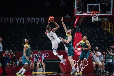 Μπάσκετ: Ντουράντ λαμπρός οδηγεί τις ΗΠΑ, νίκη με 97-78 επί της Αυστραλίας και έφυγαν για τελικό