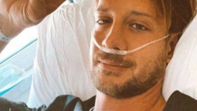 Στο νοσοκομείο ο Ηλίας Μπόγδανος με κορωνοϊό - Φανερά καταβεβλημένος