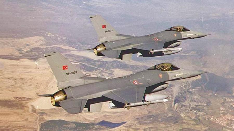 Νέο μπαράζ παραβιάσεων τουρκικών μαχητικών F 16 στο ελληνικό FIR