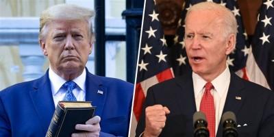 Στις 9,8 μονάδες αυξάνεται το προβάδισμα Biden (51,2%) έναντι του Trump (41,4%) στις ΗΠΑ