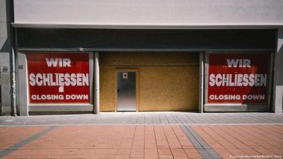 Γερμανία: Μεγάλη αύξηση των ατομικών πτωχεύσεων