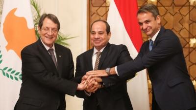 Τριμερής Ελλάδας – Αιγύπτου – Κύπρου για ενέργεια, ανατολική Μεσόγειο και Κυπριακό