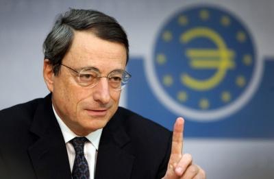 Draghi: Η παραβίαση των δημοσιονομικών κανόνων θα βλάψει τράπεζες και ανάπτυξη