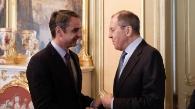 Ο Ρώσος υπουργός Εξωτερικών έρχεται στην Αθήνα στις 26 Οκτωβρίου - Συνάντηση με Μητσοτάκη - Δένδια