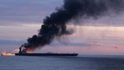 Ένας νεκρός από φωτιά σε δεξαμενόπλοιο ανοικτά της Σρι Λάνκα, 5 Έλληνες στο πλήρωμα