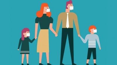 Κορωνοϊός, έρευνα: Όσο αυξάνονται οι εμβολιασμένοι σε μια οικογένεια, τόσο προστατεύονται τα ανεμβολίαστα μέλη της