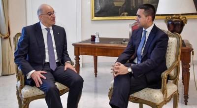 Στην Αθήνα ο ΥΠΕΞ της Ιταλίας, Luigi Di Maio – Συνάντηση με Δένδια – Στο επίκεντρο ΑΟΖ, τουρισμός