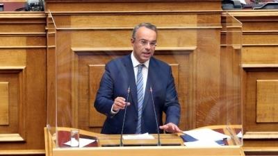 Σταϊκούρας: Επιδίωξη να είναι μη επιστρεπτέα η ενίσχυση - Τα μέτρα στήριξης της οικονομίας - Ειδική συνεδρίααση για τα NPLs