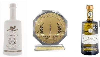 Δύο Χρυσά βραβεία από το Dubai για την E - LA - WON
