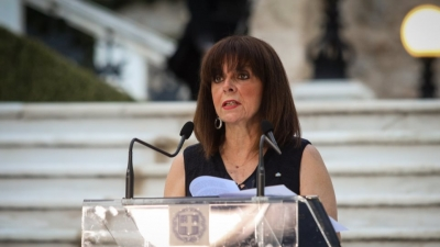 Σακελλαροπούλου: Αποφασιστικότητα ενάντια στην τουρκική επιθετικότητα - Απόλυτη συμπαράσταση στην Κύπρο