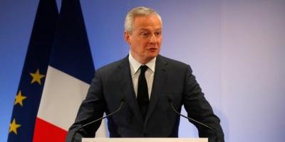 Le Maire (Γαλλία): Μέτρα στήριξης της Γαλλικής οικονομίας και των επιχειρήσεων λόγω κορωνοιού