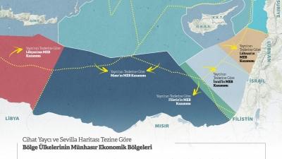 Τουρκικές ακροβασίες στην Aν. Μεσόγειο – Με νέο χάρτη δελεάζουν την Αίγυπτο για να κερδίσει έως 15.000 Κm2
