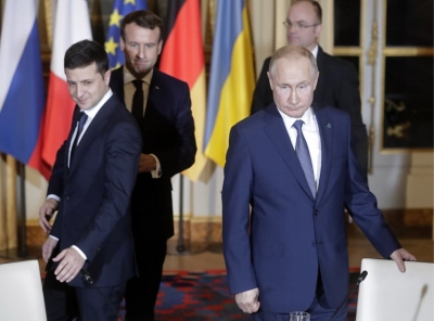 Zelenskiy (Ουκρανία) προς Putin (Ρωσία):  Να συναντηθούμε στα ανατολικά μας σύνορα για να λήξουν οι εχθροπραξίες