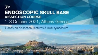 Συμμετοχή του ΥΓΕΙΑ στο 7th Endoscopic Skull Base Dissection Course 01-03 Οκτωβρίου 2021, Αθήνα