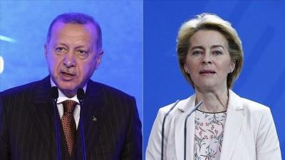 Νέα σελίδα στις σχέσεις ΕΕ και Τουρκίας - Τι ζήτησε ο Erdogan από την Von der Leyen - Θα ξεκινήσει διάλογος με Ελλάδα