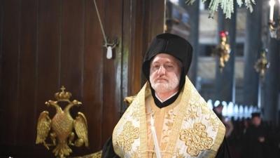 Αρχιεπίσκοπος Αμερικής Ελπιδοφόρος: Θρηνούμε μέχρι να αποδοθεί δικαιοσύνη για την Αγία Σοφία