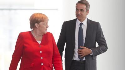 Πρωτοβουλία Merkel - Μητσοτάκη για μεγάλες γερμανικές επενδύσεις στην Ελλάδα