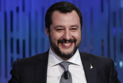 Salvini: Η Ιταλία θέλει να γίνει ο μεγαλύτερος σύμμαχος των ΗΠΑ στην Ευρώπη