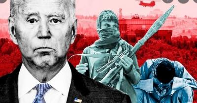 Δημοσκόπηση κόλαφος για Biden -Οι Αμερικανοί αποδοκιμάζουν τους χειρισμούς του στο Αφγανιστάν