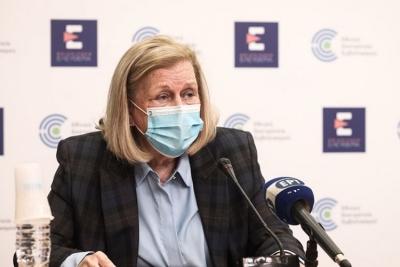 Θεοδωρίδου: Στους 18-64 ετών η σύσταση της επιτροπής για το εμβόλιο της AstraZeneca