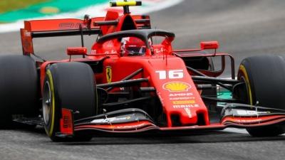 F1: Πρώτος ο Leclerc στη Μόντσα και «εντός έδρας» νίκη για τη Ferrari μετά από 9 χρόνια