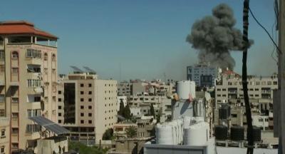 Γάζα: Κατάρρευση κτιρίου που στεγάζει Al Jazeera και AP από ισραηλινό βομβαρδισμό