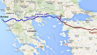 Τα οφέλη της Ελλάδας από την κατασκευή του αγωγού φυσικού αερίου TAP