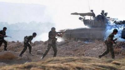 Πάνω από 1.000 μαχητές εστάλησαν από τη Συρία στο Nagorno Karabakh την Παρασκευή 16/10