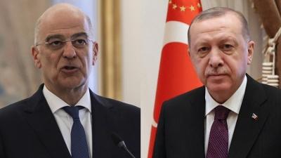Δένδιας (ΥΠΕΞ): Παντελώς ακατανόητες οι τουρκικές αντιδράσεις - Πράττει ως επιτιθέμενο κράτος
