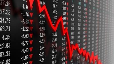 Ισχυρή πτώση σε Wall και Λονδίνο λόγω εντάσεων ΗΠΑ - Κίνας και επιχειρηματικού outlook - Στο -2,75% ο S&P 500, ο Dow -2,5% - Πτώση -2,3% στον FTSE 100