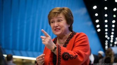 Georgieva (ΔΝΤ): Οι χώρες του G20 να συντονίσουν τα επενδυτικά τους προγράμματα για φθηνότερο αναπτυξιακό αποτέλεσμα