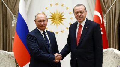 Συνάντηση Putin - Erdogan στο περιθώριο της Συνόδου των G20 στο Μπουένος Άιρες για τη Συρία