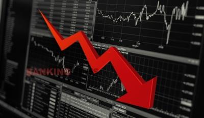 Εύλογη διόρθωση σε τράπεζες έως -6% και ΧΑ -2,27% στις 892 μον. - Προσοχή η μεγάλη πτώση δεν έχει ξεκινήσει ακόμη