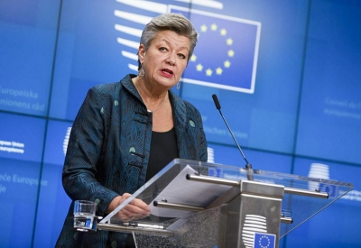 Johansson (ΕΕ) στο Delphi Forum: Πρέπει να δουλέψουμε τη σχέση μας με την Τουρκία