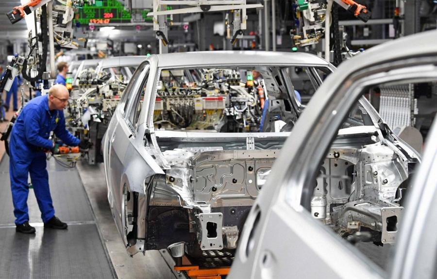 Ευρωζώνη: Πάτησε «γκάζι» η βιομηχανική παραγωγή των Απρίλιο, στο +39,3% σε ετήσια βάση με ώθηση από τα διαρκή αγαθά