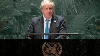 Johnson (Μεγάλη Βρετανία): Η χώρα εξασφαλίζει τον απαραίτητο προγραμματισμό στην εφοδιαστική αλυσίδα για τα Χριστούγεννα