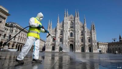 Ιταλία: Στα 1.400 τα νέα κρούσματα κορονοϊού, με 52 θανάτους