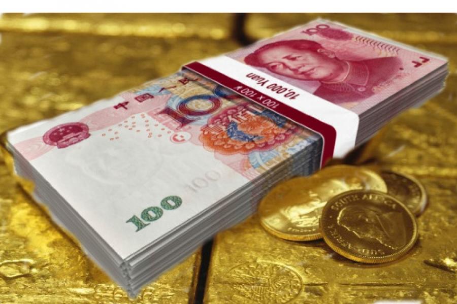 Η Κίνα προετοιμάζεται να συνδέσει το γουάν με τον χρυσό