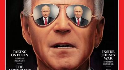 Η κορυφαία συνάντηση της χρονιάς Biden - Putin στο εξώφυλλο του TIME