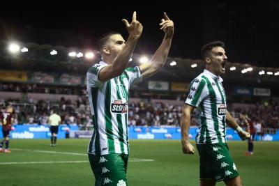 Παναθηναϊκός – Απόλλων Σμύρνης 2-0: «Διπλασίασε» τα γκολ των Πρασίνων  με ωραίο πλασέ ο Καρλίτος! (video)
