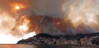 Σε πύρινο κλοιό με 41 νέες πυρκαγιές η Ελλάδα - Δραματικές εκκλήσεις για βοήθεια στην Εύβοια - Κάηκαν 150 σπίτια - Συναγερμός στη Ρόδο